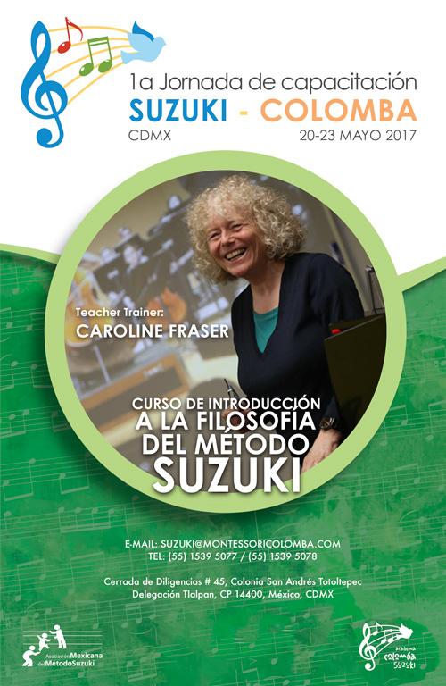 1a Jornada de capacitación Suzuki-Colomba